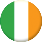 Ireland Country Flag 25mm Button Badge